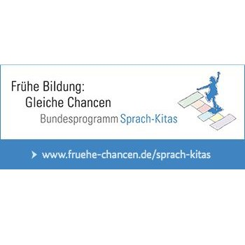 Banner Sprach-Kitas - mit Logo (350x150)